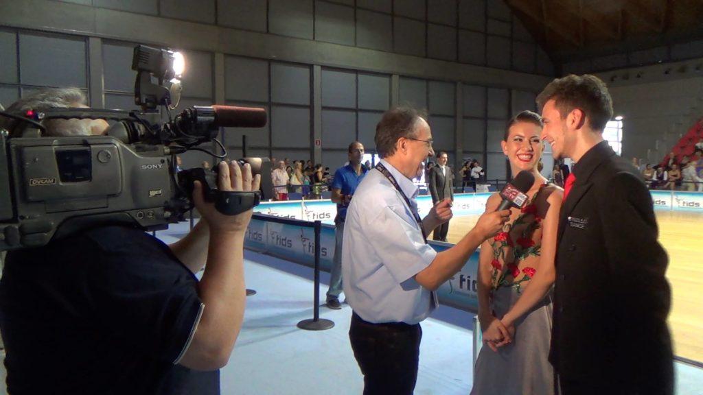 Andrea Vighi e Chiara Benati Intervista Campionato Italiano 2015