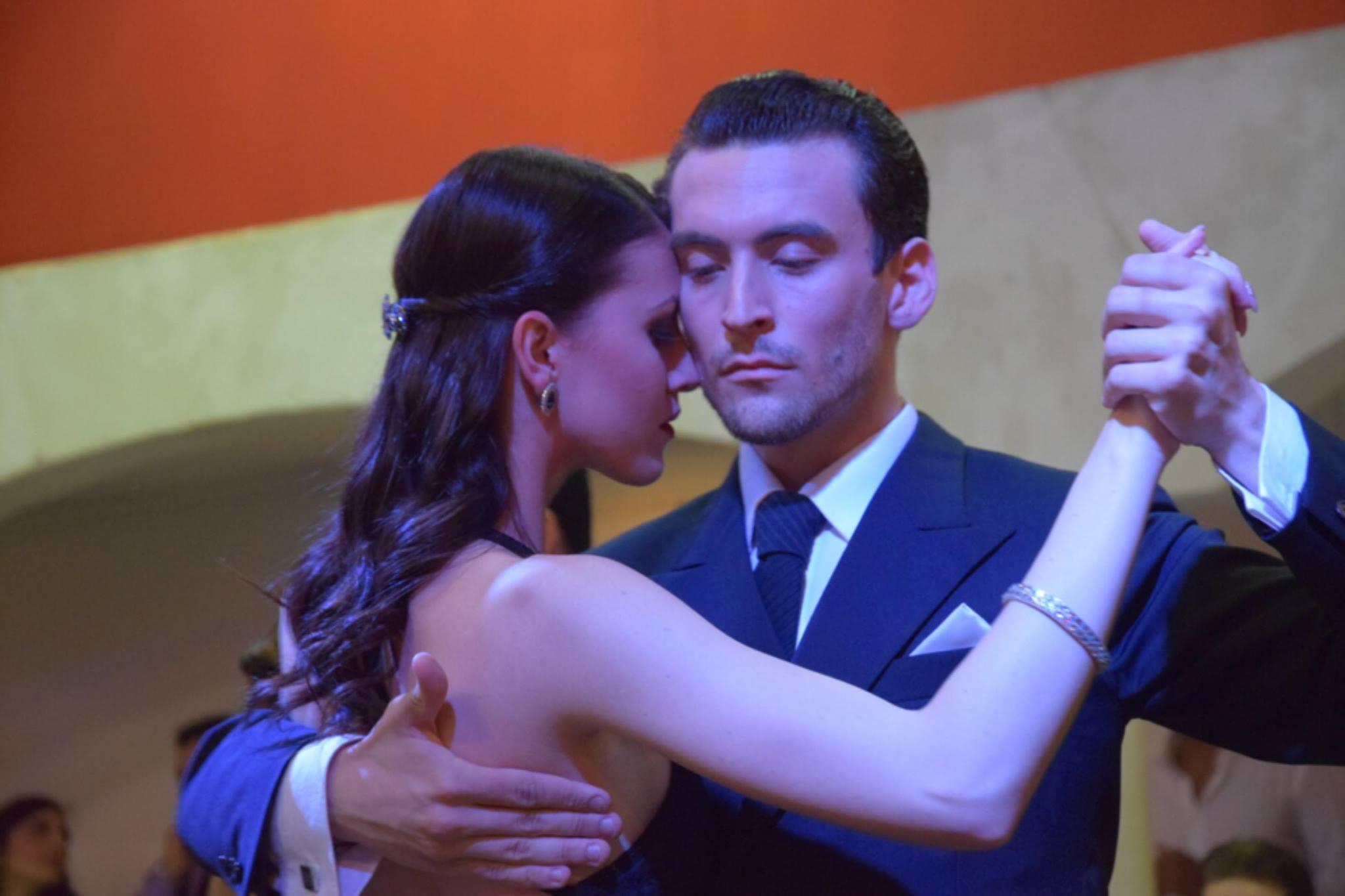 Andrea Vighi e Chiara Benati Campionato Italiano Tango de BA Roma 3