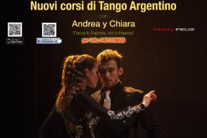 Corso principianti tango argentino a Bologna Andrea Vighi y Chiara Benati