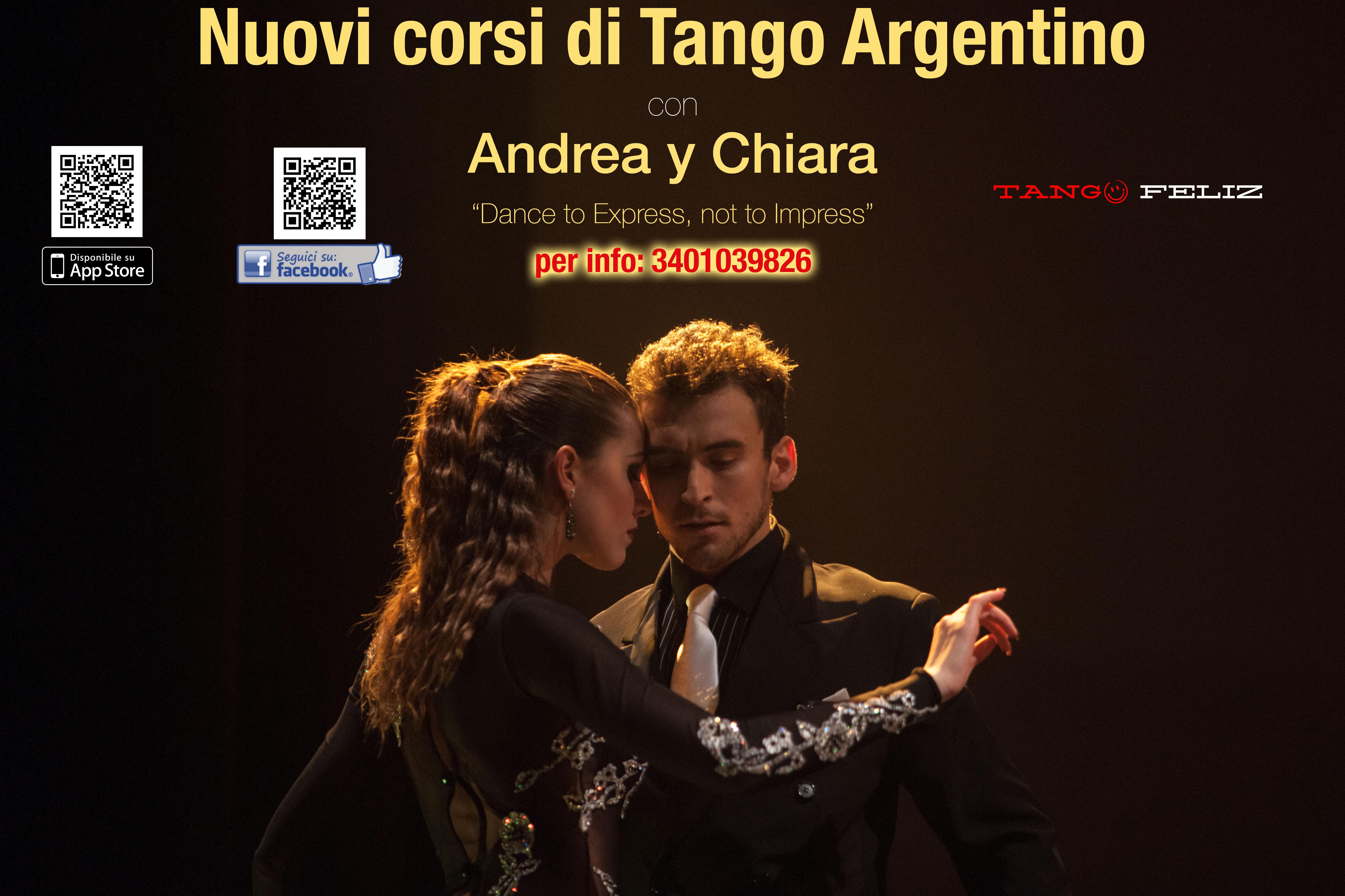 Corsi di Tango a Bologna Andrea Vighi y Chiara Benati