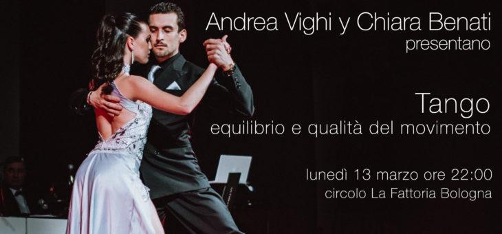 Tango: equilibrio e qualità del movimento – Stage livello unico