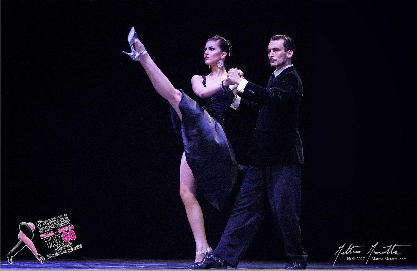 Andrea Vighi y Chiara Benati Vincitori 6° Preliminar Italia de Tango Buenos Aires Mundial de Baile 2017 Tango Escenario