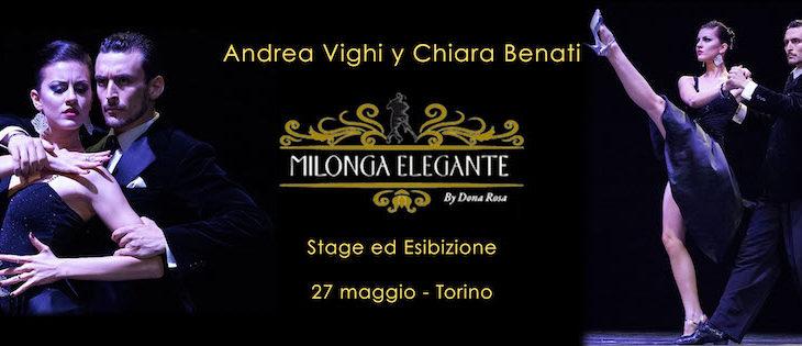 Stage ed esibizione a Torino alla Milonga Elegante