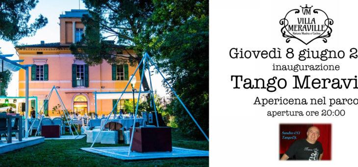 Tango Meraville – milonga estiva gratuita a Bologna