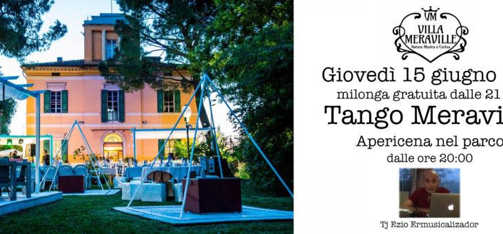 Tango Meraville – milonga estiva gratuita a Bologna – 15 giugno 2017