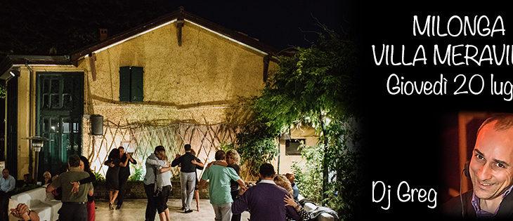 Tango Meraville – milonga estiva e cena gratuita a Bologna – 20 luglio 2017