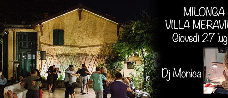 Tango Meraville – milonga estiva e cena gratuita a Bologna – 27 luglio 2017