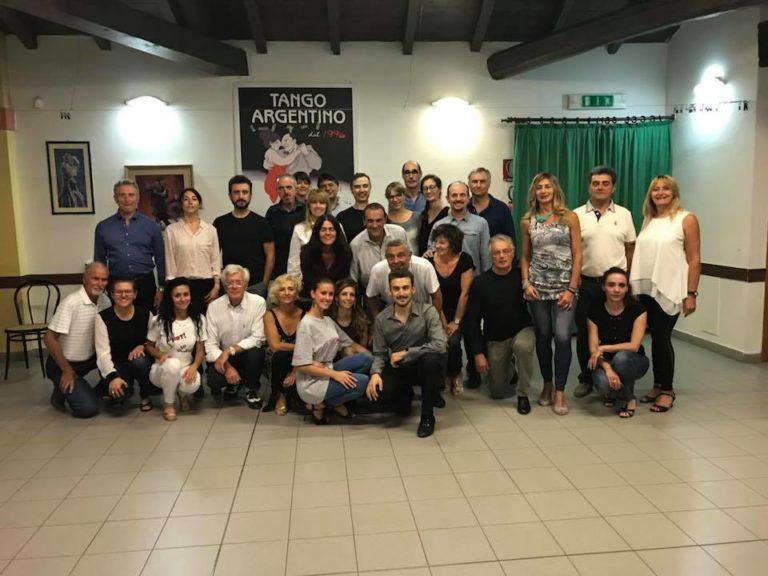 corsi tango argentino Bologna con Andrea Vighi y Chiara Benati Tango Feliz