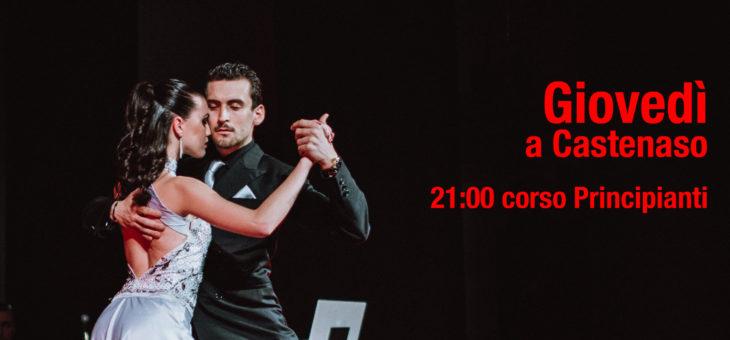 Corso Principianti a Castenaso tutti i Giovedì – Tango Argentino