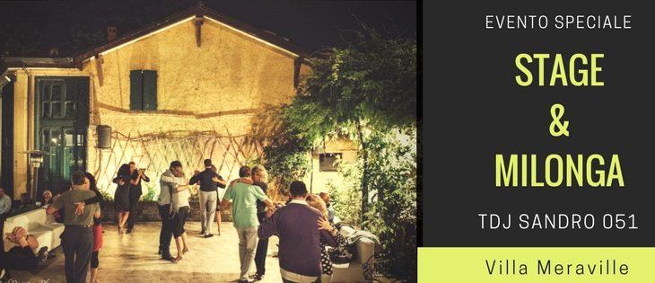 Tango Meraville – evento speciale stage + milonga gratuita e cena a Bologna – 7 settembre 2017