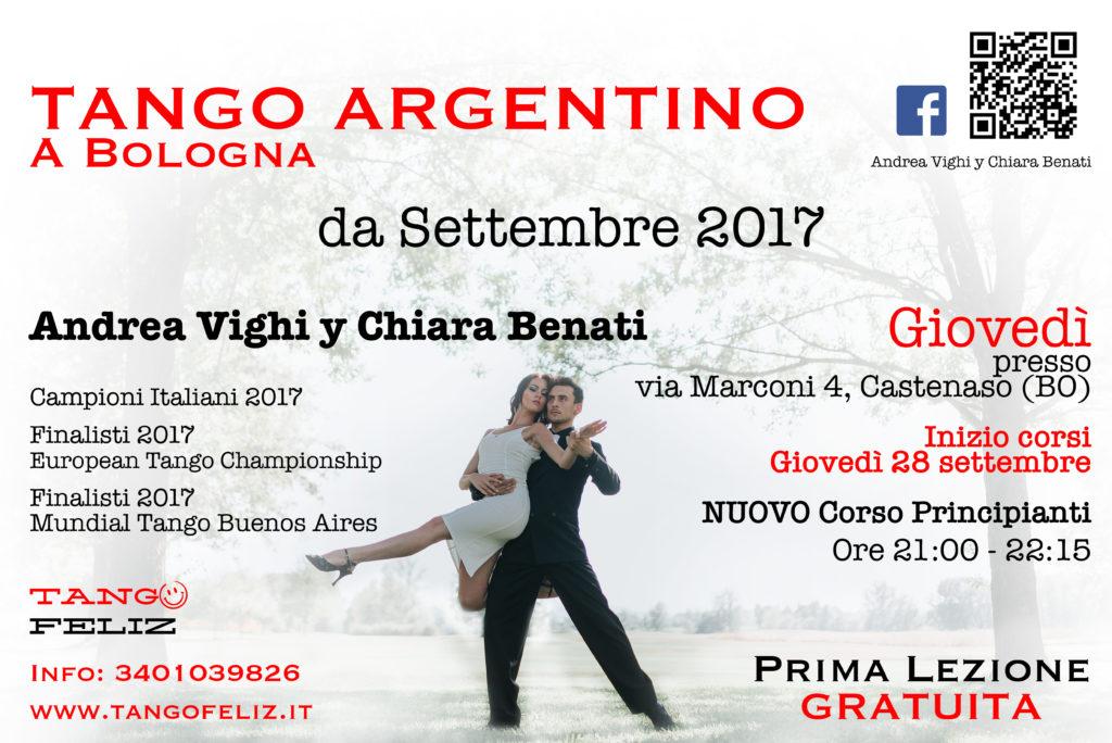 Corso principianti giovedì tango argentino Castenaso