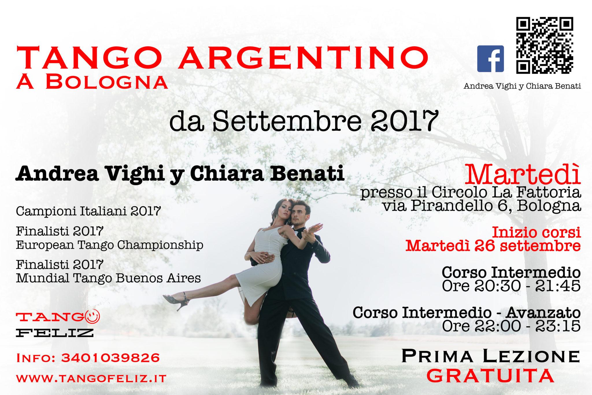 corsi tango Fattoria settembre 2017 Bologna