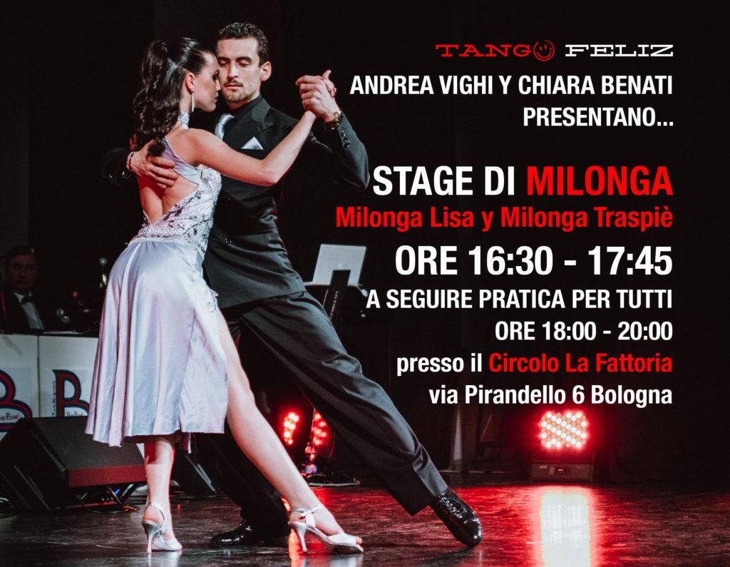 stage di milonga domenica 3 dicembre la fattoria tango feliz