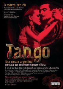 Tango Cena - Camere d'aria - Evento a Bologna - Andrea Vighi y Chiara Benati