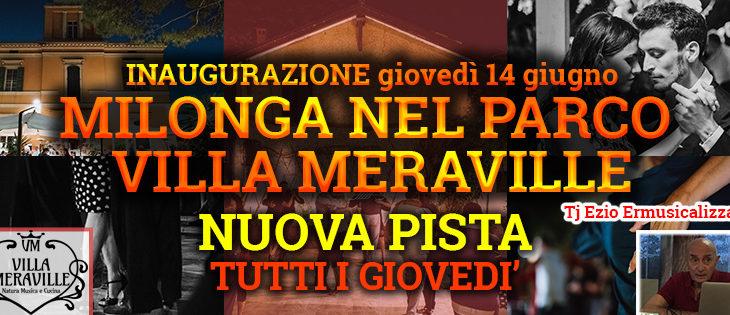 Tango Meraville – Milonga estiva a Bologna – dal 14 giugno 2018