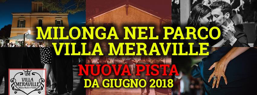 Tango Meraville - Milonga estiva a Bologna