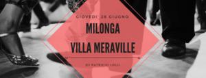Villa Meraville Milonga nel parco 2018