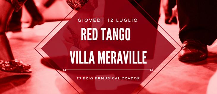 Tango Meraville – Milonga estiva a Bologna – 12 luglio 2018