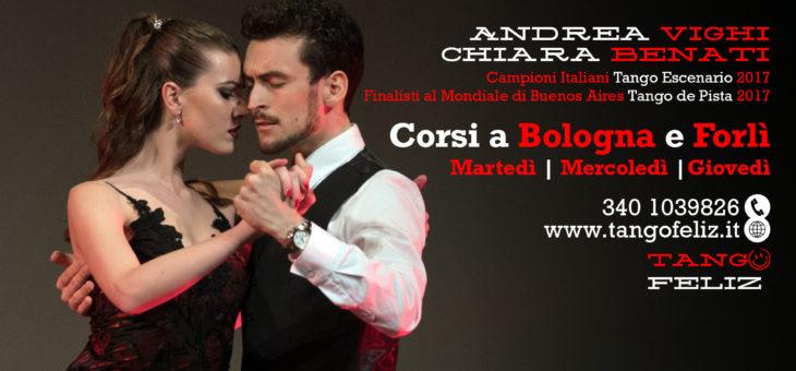 Nuovi corsi di Tango a Bologna