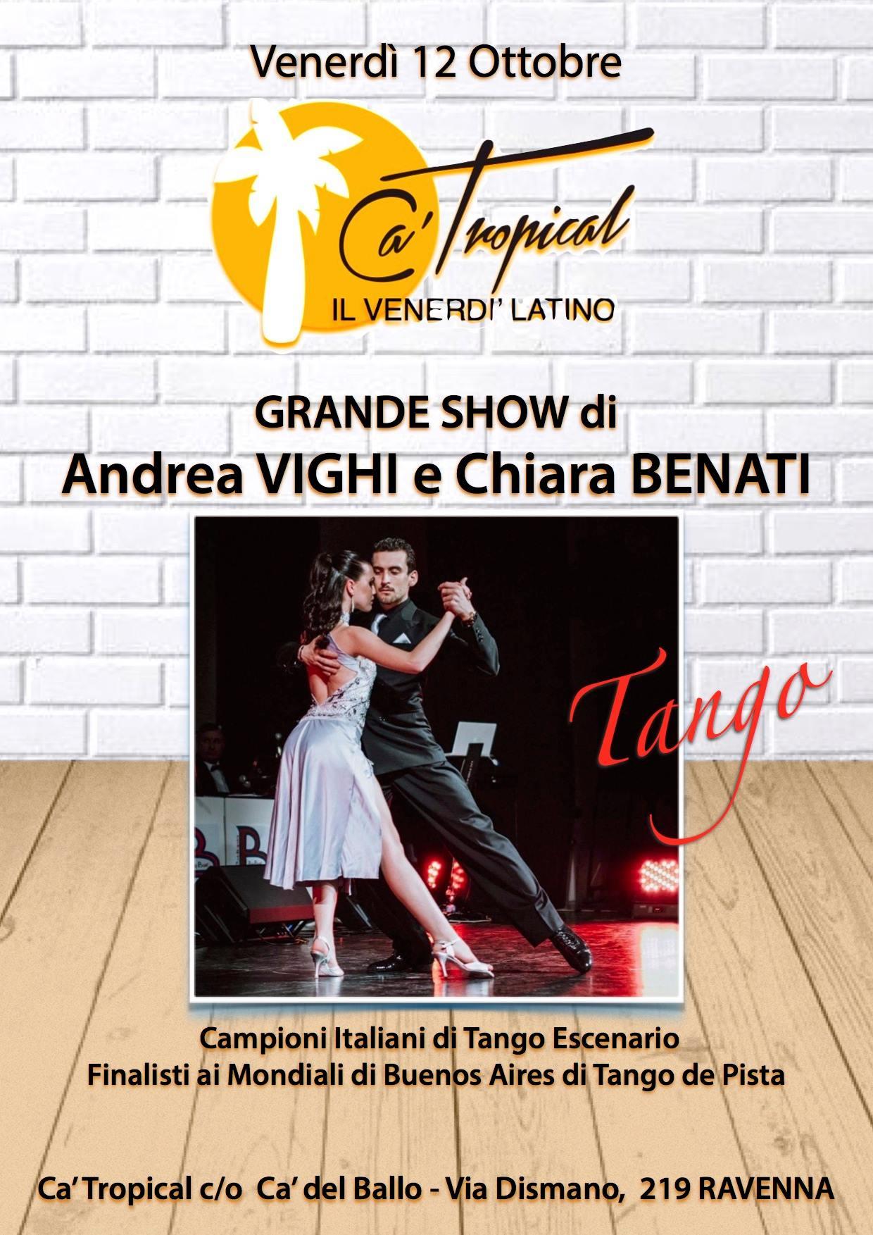 Andrea Vighi e Chiara Benati ca del ballo