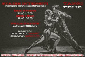 stage intensivo preparazione campionato metropolitano tango