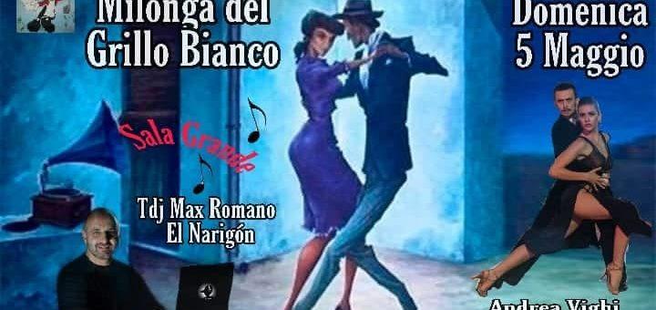 Stage Andrea e Chiara – Milonga del Grillo Bianco – 5 maggio 2019