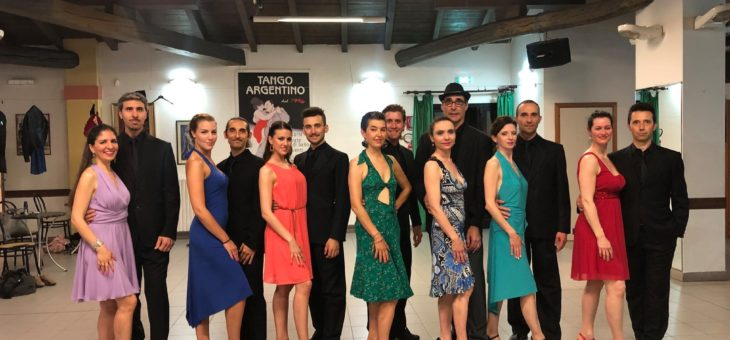 Saggio di fine anno del corso coreografico di tango – Andrea e Chiara
