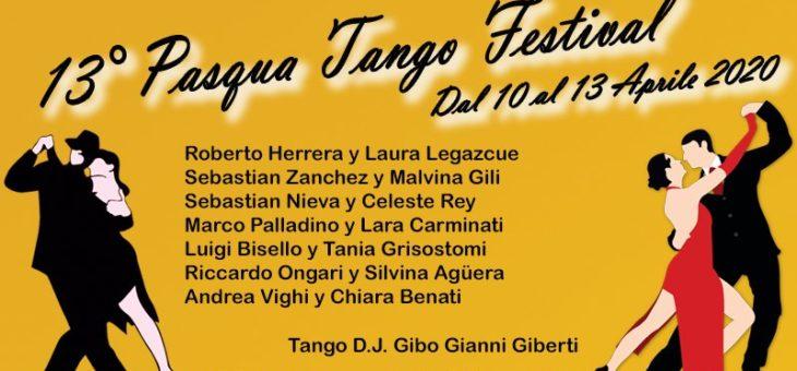 Evento Annullato – Pasqua Tango Festival – 10 / 13 Aprile 2020