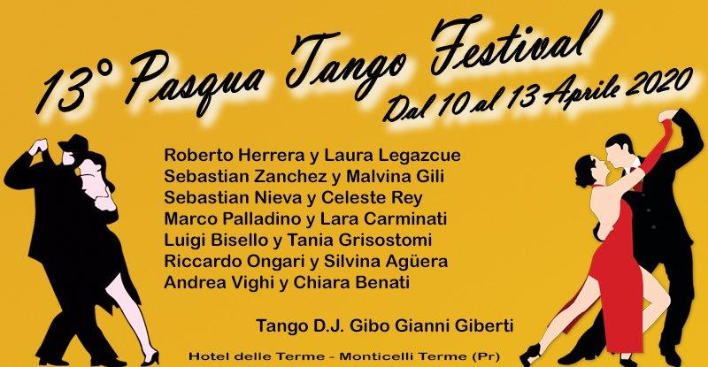 Pasqua Tango Festival 2020 -header